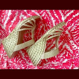 The Touch of Nina  wedge sandals